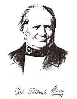 Karl Friedrich Haug Unterschrift