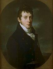 Carl Friedrich von Sachsen-Weimar-Eisenach, Ölgemälde von Johann Friedrich August Tischbein (1804) (Quelle: Wikimedia)