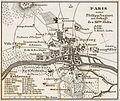 Karl Spruner von Merz, Paris unter Philipp August am Anfange des XIIten Jhdts, 1854 - David Rumsey.jpg