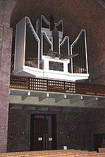 Karlsruhe, Kirche St. Stephan, die Orgel.JPG
