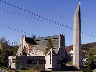Orșova - Image: Katholische Kirche Orșova