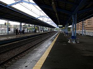 Miurakaigan Station - Image: Keikyu Miurakaigan sta 003