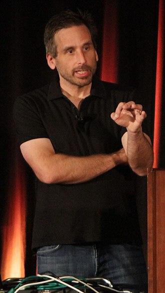 Ken Levine (game developer) - Levine at the 2014 Game Developers Conference
