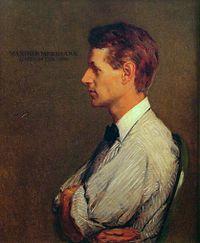 Kenyon Cox - Portrait of Maxfield Parrish (1905).jpg