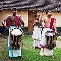 Kerala - Hindu Temple Drummers (15970054935).jpg