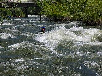 Kern River - Image: Kern Riverboarding 01