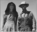 Kern County, California. A couple from Oklahoma, now resettled in California. They came four years a . . . - NARA - 521804.tif
