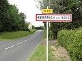 Kerprich-aux-Bois (Moselle) entrée.jpg