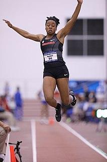 Keturah Orji American female triple jumper