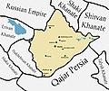 Khanate of Karabakh in the map of Caucasus in 1809-1817 years.jpg