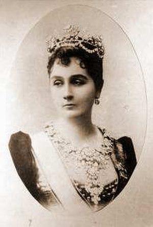 Emina Ilhamy - A nineteenth century photograph of Amina Najiba Khanum Effendi
