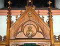 Kierch Diddeleng, Beichtstull Kartusch-105.jpg