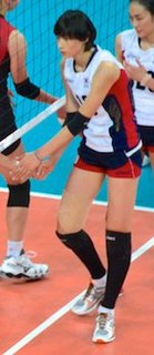 Kim Yeon-koung South Korean female professional volleyball player