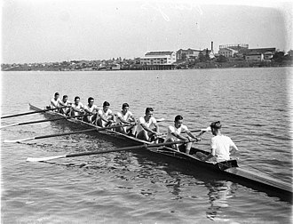 Athletic Association of the Great Public Schools of New South Wales - The King's School eight-oar crew, 1932