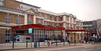 King's College Hospital - Ambulance entrance