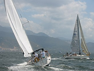 Kingston Harbour - Image: Kingston Harbour Sailing Race
