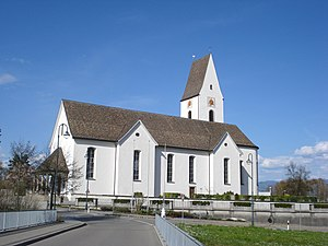 Freienbach - Roman Catholic church in Freienbach