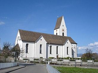 Freienbach - Roman Catholic church in Freienbach