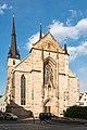 Kirchplatz, Evangelische Johanneskirche Saalfeld (Saale) 20180509 003.jpg