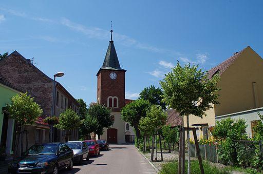 Kirchstraße Kirche Plaue Brandenburg