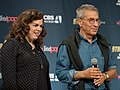 Kirsten Beyer and Nicholas Meyer at Star Trek Mission New York.jpg
