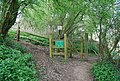 Kissing Gate on the Medway Valley Way near Yalding - geograph.org.uk - 1267451.jpg