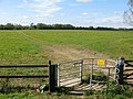Kissing gate to footpath across North Meadow - geograph.org.uk - 1584760.jpg