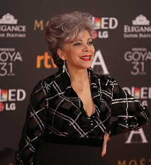 Kiti Manver - Mánver at Goya Awards 2017