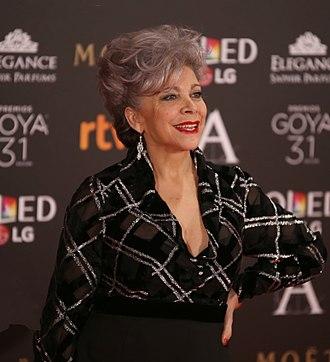 Kiti Mánver - Mánver at Goya Awards 2017