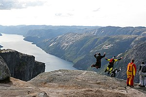 Kjerag BASE jumping.jpg