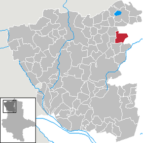 Location of Kleinau within Altmarkkreis Salzwedel