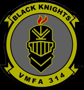 VMFA-314 - VMFA-314 Insignia