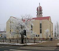 Kościół św Jadwigi zima 2006