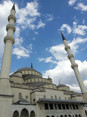 Kocatepe Mosque - Image: Kocatepe Mosque 2013 08 07 23 31