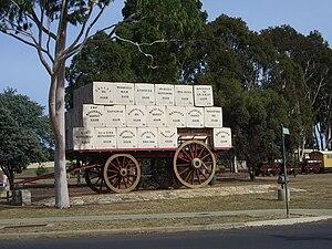 Kojonup, Western Australia - Giant Dray in Kojonup