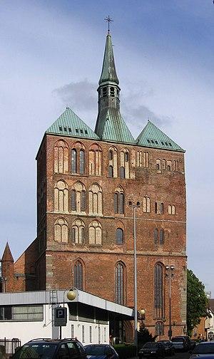 Kołobrzeg - Brick Gothic basilica St. Mary's