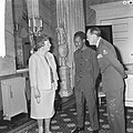 Koningin Juliana, president Nyerere en prins Bernhard op paleis Soestdijk, Bestanddeelnr 917-6726.jpg