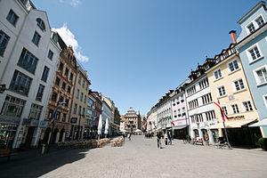 Konstanz - Konstanz Marktstätte, the main square in the old town.