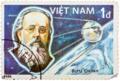 Konstatin Tsiolkovsky in Vietnam Stamps.png