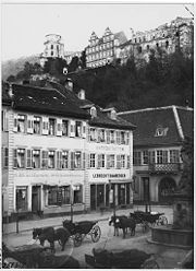 180px Kornmarkt in Heidelberg%2C Germany%2C Carl Curman Heidelberg (de)