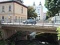 Kossuth Street Bridge over Eger Stream in Eger, 2016 Hungary.jpg