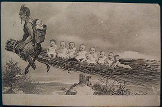 Sack Man - Image: Krampus 1900s 2