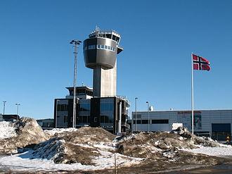 Kristiansand Airport, Kjevik - The new tower which opened in 2013