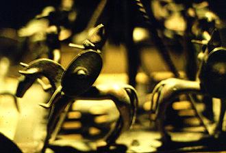 Strettweg Cult Wagon - Image: Kultwagen von Strettweg 2