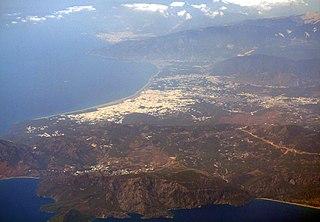 District in Mediterranean, Turkey