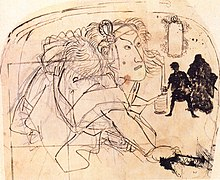 Kuniyoshi Utagawa, Sukeroku drawing his sword.jpg