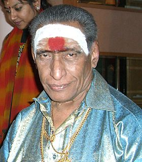 Kunnakudi Vaidyanathan Indian violinist