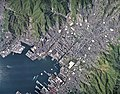 Kure city center area Aerial photograph.2009.jpg