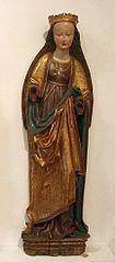 Nieokreślona święta, figura z szafy nastawy ołtarzowej