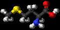 L-Methionine molecule ball.png